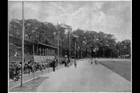 Herne Hill Velodrome in 1896